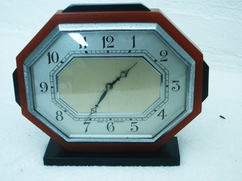 Antique bakelite alarm clocks catalin