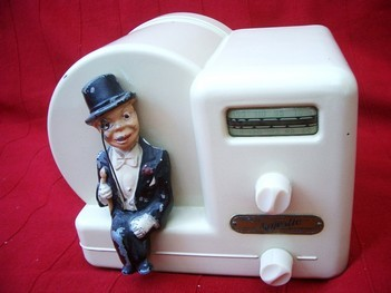 Radio, Majestic Charlie McCarthy with Monocle